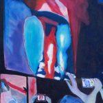 24 Images seconde, ensemble de 93 tableaux - Extrait série bleu, 2014, 45x56 cm