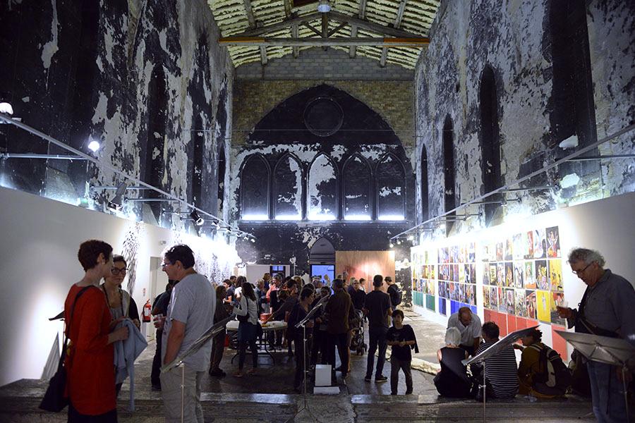 Vernissage Les Décennies Pourpres - Chapelle du Quartier Haut, Sète - 2014 Série 24 Images Seconde