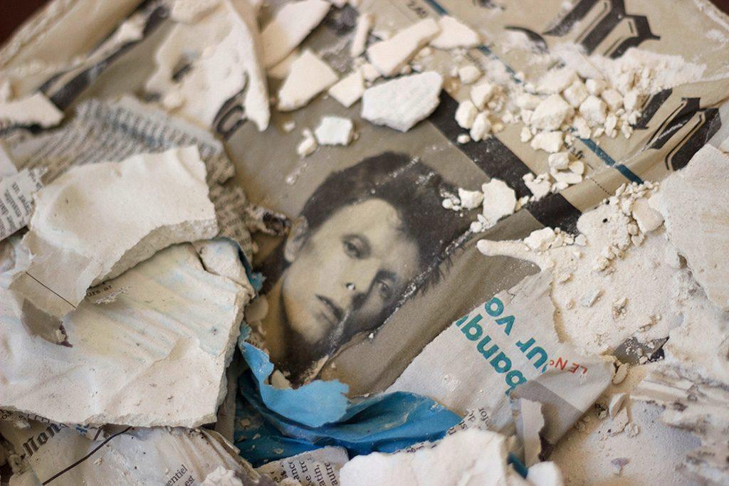 Brazil - Plâtre, journal Le Monde - 2017